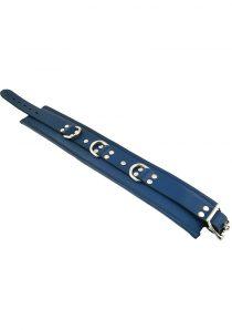 Rouge 3 Ring Padded Collar Blu