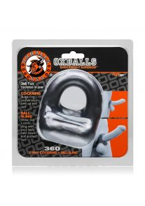 360 2-Way Cockring And Ballsling Steel