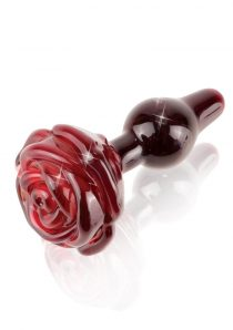 Icicles No 76 Glass Plug Red And Black 2.4 Inches