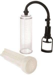 Adam and Eve Original 2 in 1 Stroker Pump White 8.5
