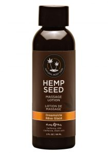 Hemp Seed Massage Lotion 100% Vegan Dreamsicle 2 Ounce