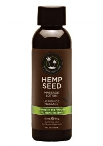 Hemp Seed Massage Lotion 100% Vegan Naked In The Woods 2 Ounce