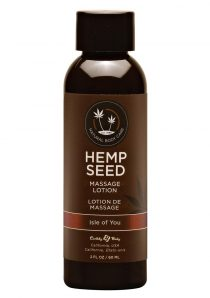 Hemp Seed Massage Lotion 100% Vegan Isle Of You 2 Ounce