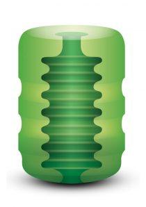 Zolo Original Pocket Stroker Ribbed Texture Green