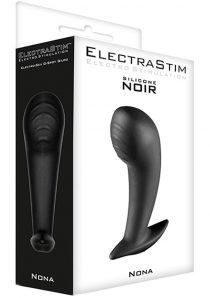 ElectraStim Nona Silicone Noir Electro-Sex G-Spot Probe Black