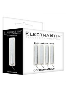 ElectraStim Consumables Electrapads Long 3 Inch 4 Pads Per Pack