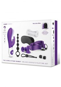 The Come Hither Rabbit Deluxe Couple`s Playtime Set