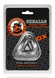 Oxballs Tri-Sport 3 Ring Cocksling Steel