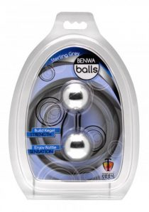 Trinity Vibes Sterling Grey Duo Tone Benwa Balls Waterproof 1.3 Inch Diameter