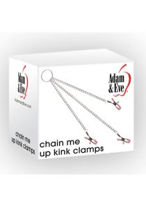 Adam and Eve Chain Me Up Kink Clamps