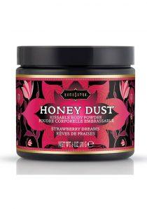 Kama Sutra Honey Dust Kissable Body Powder Strawberry Dreams 6 Ounce
