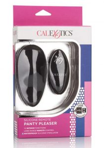 Silicone Wireless Remote Panty Pleaser USB Rechargeable Massager Waterproof Black