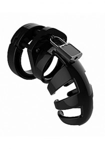 Man Cage By Shots Chastity 02 Black 3.5 Inch