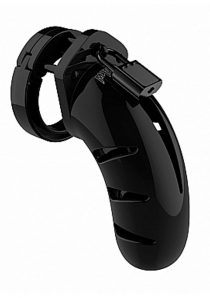Man Cage By Shots Chastity 03 Black 4.5 Inch
