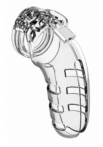 Man Cage By Shots Chastity 06 Clear 5.5 Inch