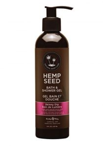 Hemp Seed Bath and Shower Gel Skinny Dip 8 Ounce