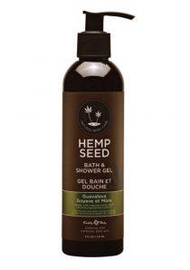Hemp Seed Bath and Shower Gel Guavalava 8 Ounce