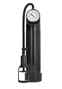 Pumped By Shots Comfort Pump With Advanced PSI Gauge Black