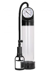 Pumped Comfort Pump With PSI Gauge Transparent