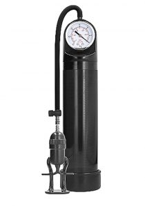 Pumped By Shots Deluxe Pump With Advanced PSI Gauge Black