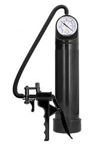 Pumped By Shots Elite Pump With Advanced PSI Gauge Black