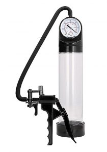 Pumped Elite Pump With PSI Gauge Transparent