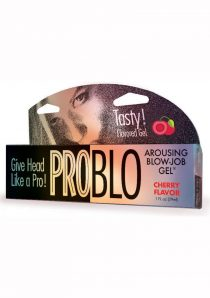 Pro Blo Numbing Deep Throat Flavored Gel Cherry
