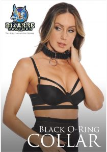 Bizarre Leather Black O-Ring Collar