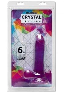 Crystal Jellies Slim Cock 6.5 Non Vibrating