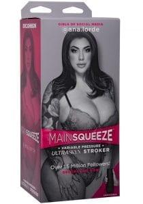 Main Squeeze Gosm Ana.lorde Pussy Vanilla Male Masturbator Non Vibrating Textured