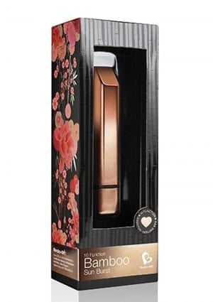 Rocks Off Bamboo 10 Function Vibrator Waterproof  Brushed Copper