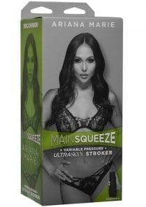 Main Squeeze Ultraskyn Stroker Ariana Marie  Pussy Masturbator Non Vibrating Textured Flesh