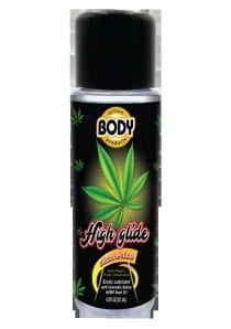 High Glide Silicone Erotic Lubricant With Cannabis Sativa Hemp Seed Oil 4.8 Ounces