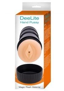 Dee Lite Hand Pussy Masturbator Textured Love Tunnel Non Vibrating Flesh