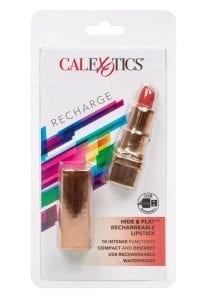Hide and Play Rechargeable Lipstick Multi Function Waterproof  Red