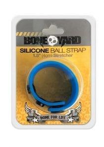 Boneyard Silicone Ball Strap 1.5 Inches Stretcher Blue