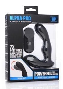Ap 7x P-stroke Prostate Stim W/ Shaft