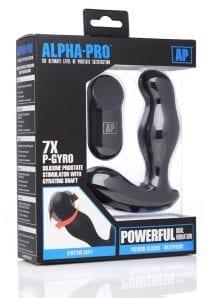 Ap 7x P-gyro Prostate Stim W/ Shaft