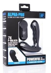 Ap 7x P-milker Prostate Stim W/ Bead