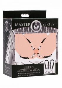 Master Series Spread Labia Spreader Straps Adjustable
