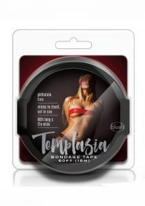Temptasia Bondage Tape Black 60 Feet