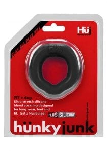 Hunkyjunk Fit Ergo Silicone Blend C-Ring Tar