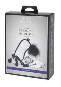 Fifty Shades Of Grey Pleasure Overload Sweet Sensations Couples Kit Bondage/Fetish