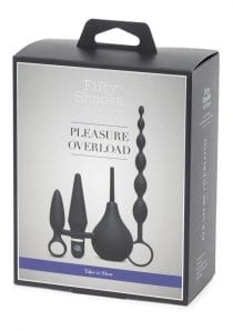 Fifty Shades Of Grey Pleasure Overload Take It Slow Starter Anal Kit
