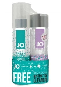 JO Gift With Purchase Agapé Personal Lubricant and Toy Cleaner Set