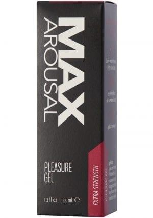 Max Arousal Gel Extra Strength 1.2 Oz