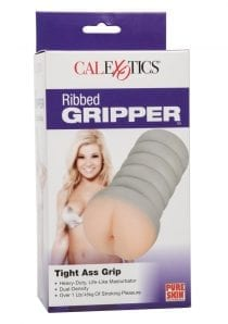 Ribbed Gripper Tight Ass Ivory