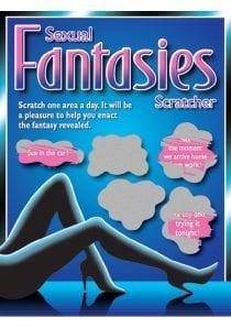 Sexual Fantasies Scratchers