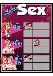 Lotto Sex Game Ticket